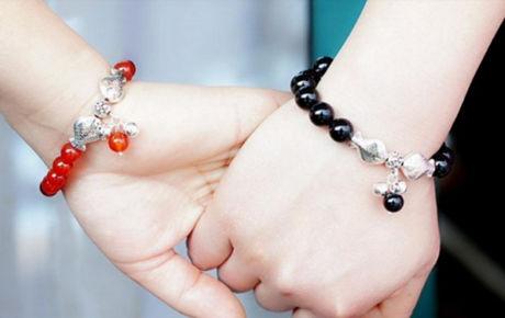手链,情侣手链,钻石手链