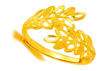 24k黄金戒指