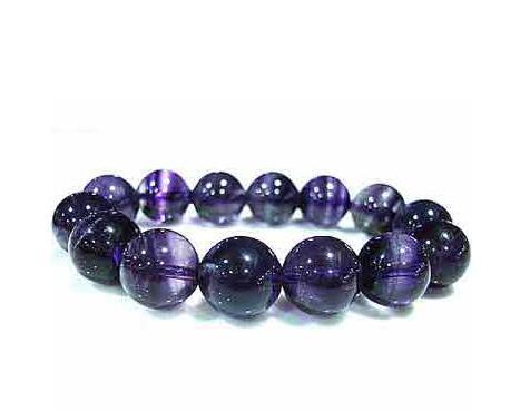 紫萤石,手链