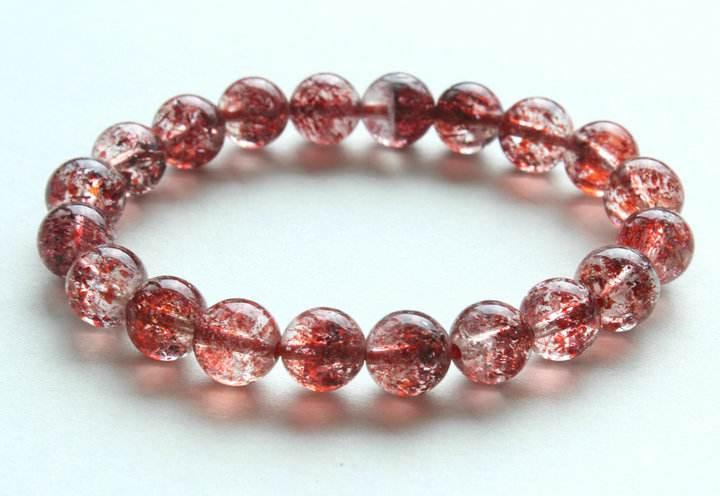 草莓晶,草莓晶价格,草莓晶手链,手链