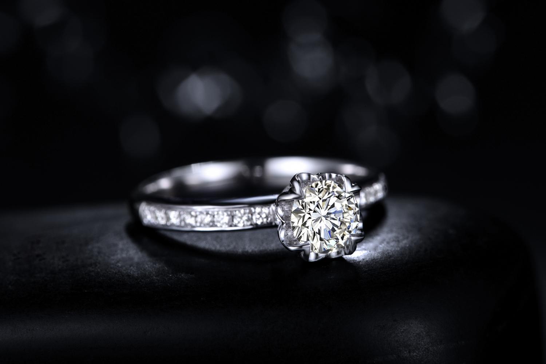 钻戒,结婚戒指,婚戒