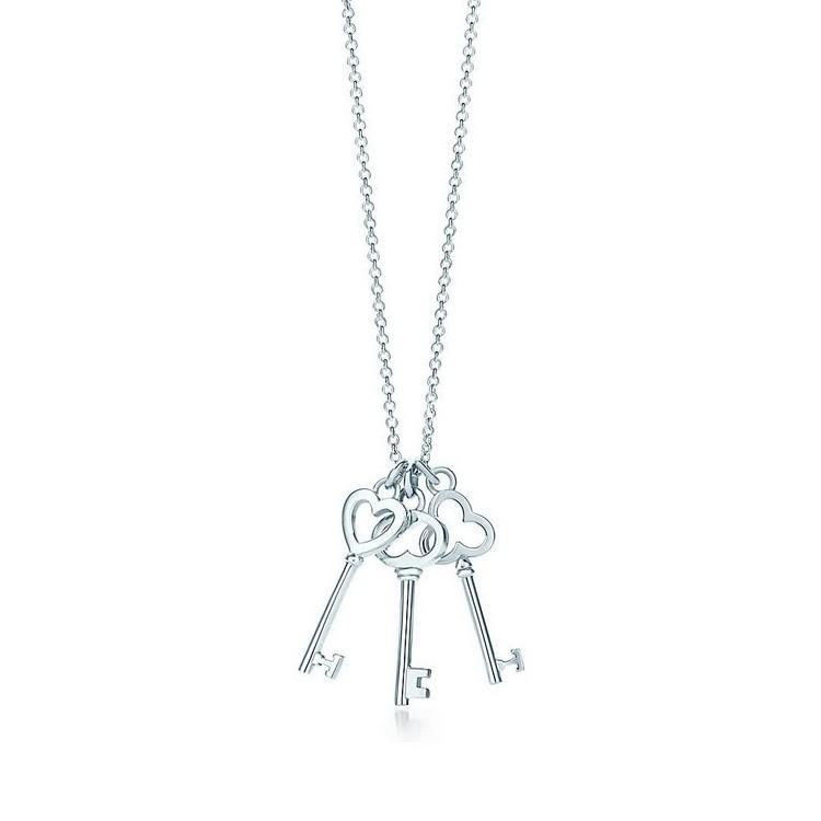 tiffany项链钥匙,项链,佐卡伊项链