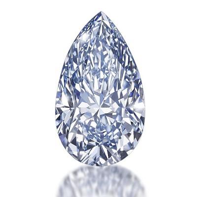水滴形钻石,裸钻