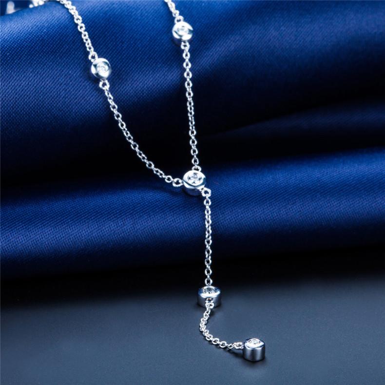 钻石项链,铂金项链,铂金首饰