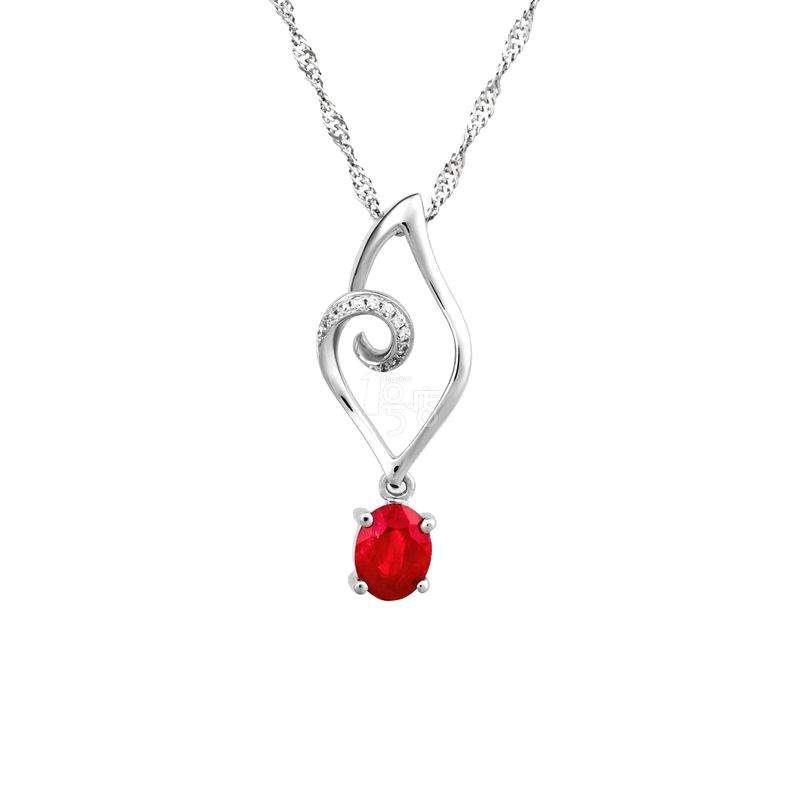 颜博钻石钻石项链,项链,佐卡伊项链
