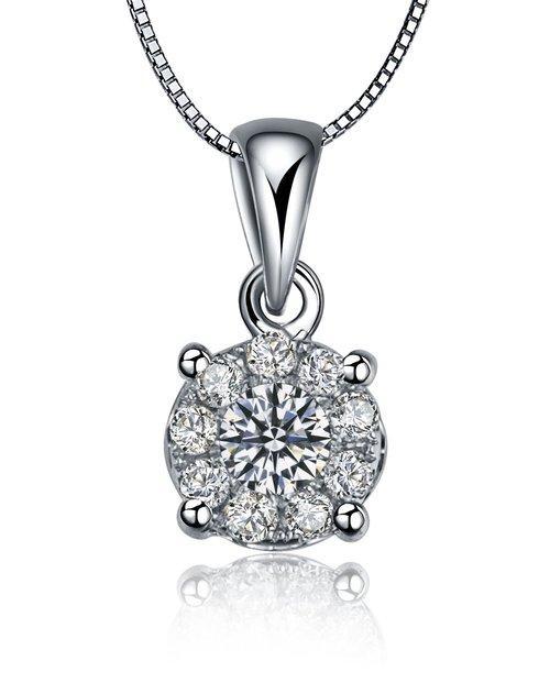 帝壹珠宝钻石项链,项链,佐卡伊项链,钻石项链
