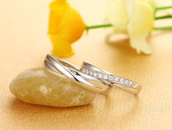 铂金对戒,钻石对戒,情侣对戒