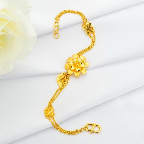 潮宏基黄金手链,手链,佐卡伊手链