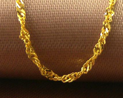 金太福黄金项链,项链,佐卡伊项链