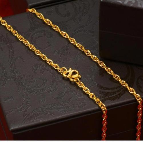 齐鲁金店黄金项链,项链,佐卡伊项链