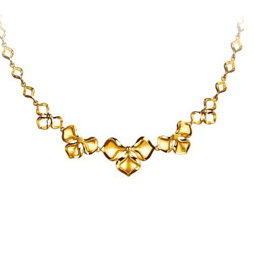 五洲金行黄金项链,项链,佐卡伊项链