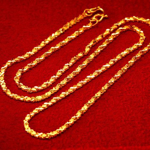 天鑫洋黄金项链,项链,佐卡伊项链