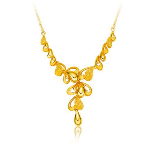 百泰黄金黄金项链,项链,佐卡伊项链