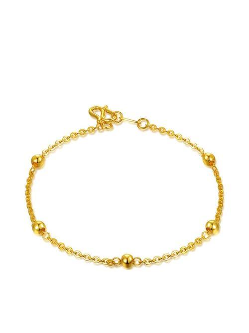百泰黄金黄金手链,手链,佐卡伊手链