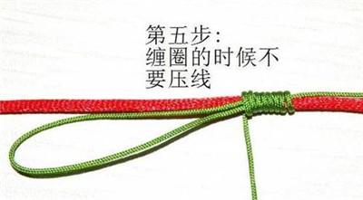 戒指大了缠线方法图解
