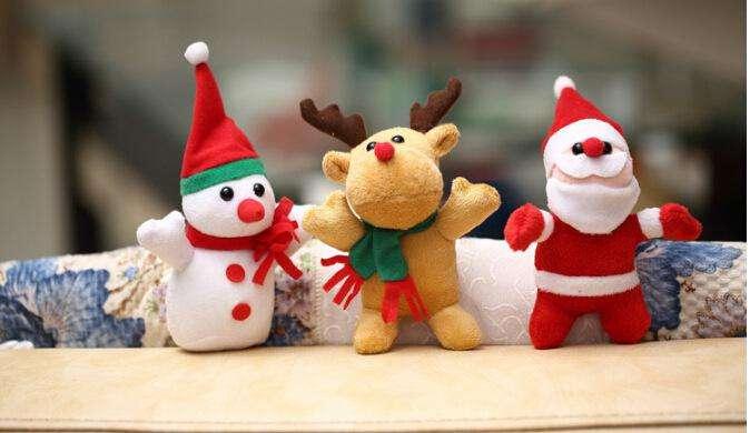 圣诞娃娃,圣诞老人,圣诞雪人