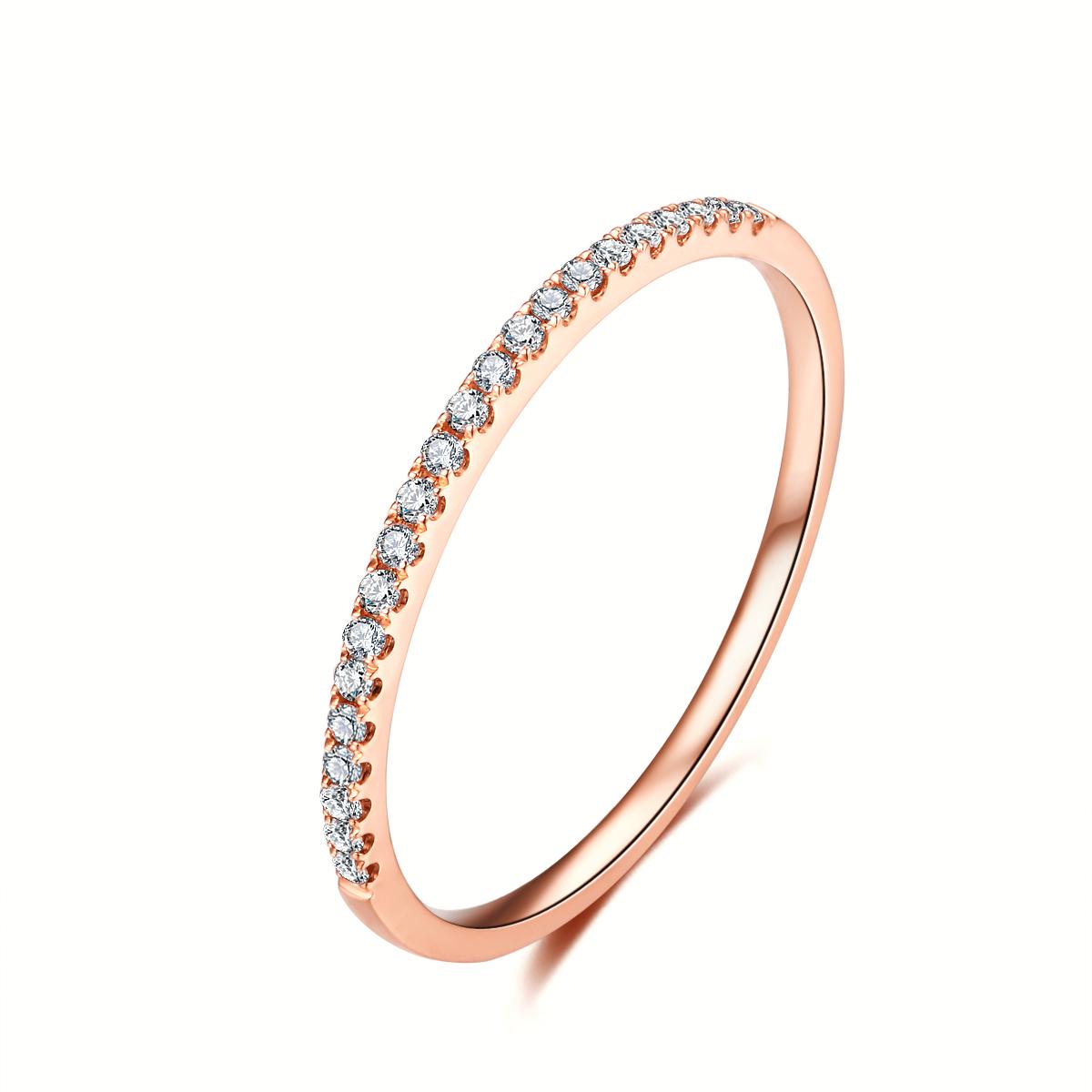 玫瑰金钻石戒指,玫瑰金戒指,玫瑰金女戒,钻石戒指,钻石女戒,时尚钻戒,时尚玫瑰金钻戒