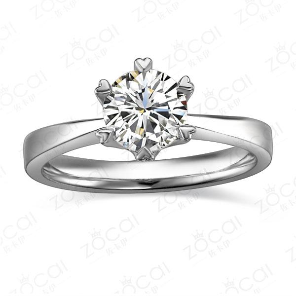》》点击进入【童话】 白18k金32分/0.32克拉钻石戒指