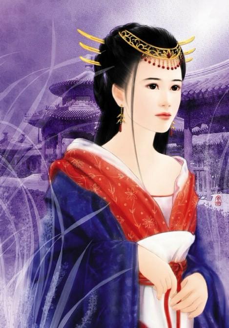 中国古代四大美人与珠宝首饰高清图片