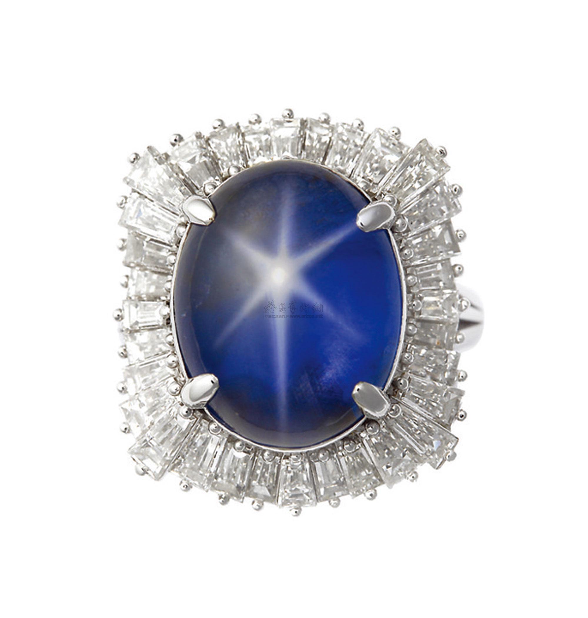 蓝宝石与钻石如何搭配设计