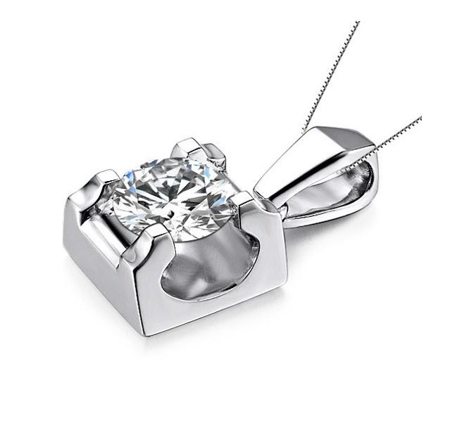 》》点击进入【风华】 PT950铂金钻石吊坠