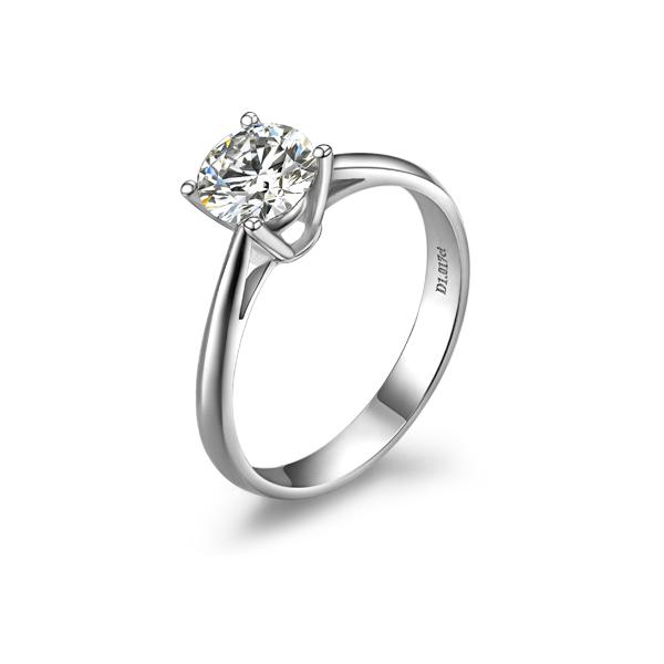 》》点击进入【国色天香】 PT950铂金50分/0.5克拉钻石戒指