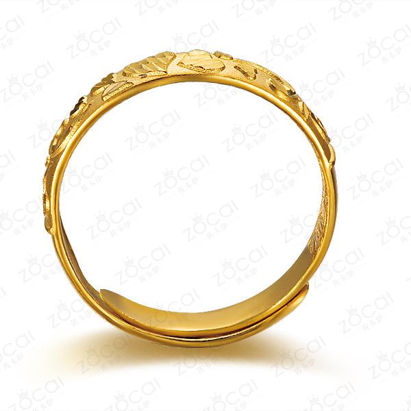 》》点击进入【雕刻时光】 足金/黄金戒指 男女通用款足金戒指