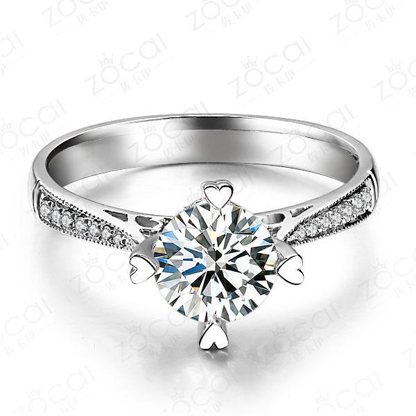 》》点击进入【情定威尼斯】 白18k金钻石戒指