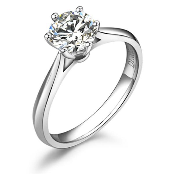 》》点击进入【挚爱】 18K白金40分/0.4克拉钻石戒指