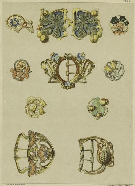 奢侈珠宝首饰设计手稿