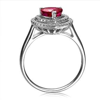为你的结婚宝石戒指选个模版吧!