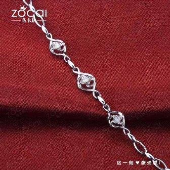 元旦很土很实在的钻石手链