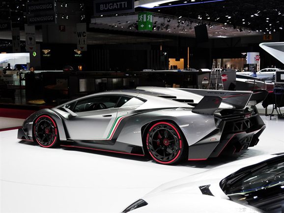 兰博基尼在日内瓦车展正式发布Veneno概念车