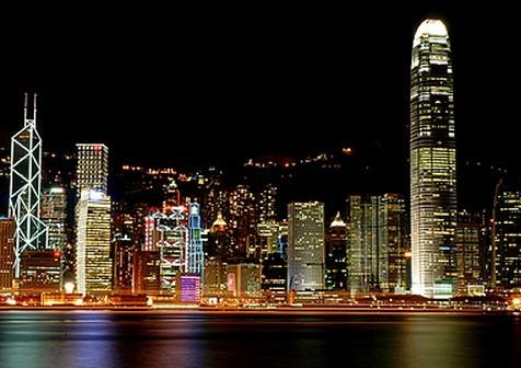 香港酒店夜景